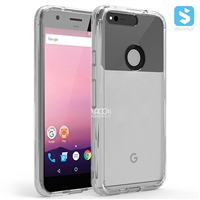 Acrylic Clear Gummy Bumper Case for GOOGLE Pixel X(5.2)(2016)