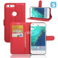 PU Leather Wallet Case for GOOGLE Pixel (5.0)(2016)