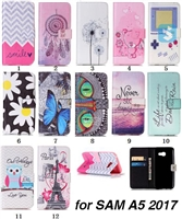 Printed PU Leather Case for SAMSUNG Galaxy A5(2017)