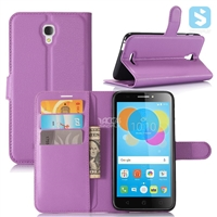 PU Leather Wallet Case for Alcatel Pixi 4 5.5 / 5012G / 5012F