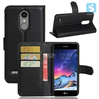 PU Leather Wallet Case for LG K4 2017