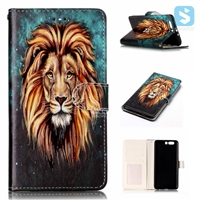 Printed PU Leather Wallet Case for HUAWEI P10 Plus