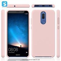 Liquid Silicon Case for Huawei Mate 10 Lite