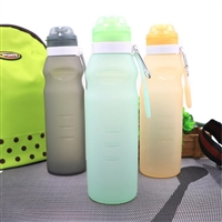 600ML Portable Folding Silicone Cup