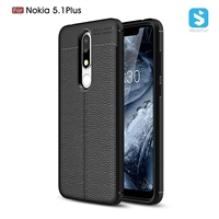 Litchi line TPU phone case for Nokia 5.1 plus
