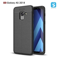 Litchi lines TPU phone case for Samsung Galaxy A5 2018(A530F)