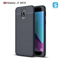 Litchi lines TPU phone case for SAMSUNG  Galaxy J7 2018/J737A