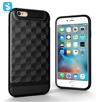 TPU PC 2 in 1 phone case for iPhone 6