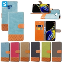 Denim and color scheme style case for Samsung Galaxy Note 9