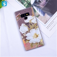 white Matte emboss TPU phone case for Samsung Galaxy Note 9