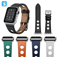 cowhide watchband for Apple watch