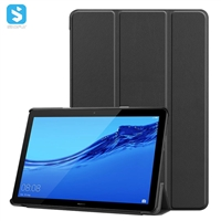 3 fold pu leather case for Huawei MediaPad T5 10.1