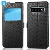 Window style phone case for Samsung Galaxy S10 Plus