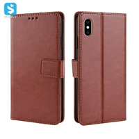 Crazy Horse PU leather case for iPhone XS MAX