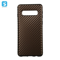 TPU carbon fiber full cover for SAMSUNG  Galaxy S10 Plus