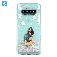 TPU colorful liquid case for Samsung Galaxy S10