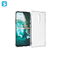 Alpha grain TPU clear phone case for One Plus 7 Pro