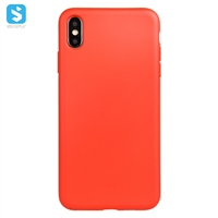 2mm TPU liquid silicone phone case for iphone XS