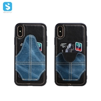 TPU PU Phone case for iphone xs max