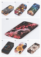 Luminous water transfer phone case for iphone xs
