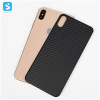 Carbon Fiber back cover for iphone XS MAX