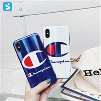 TPU IMD champion phone case for iphone XS