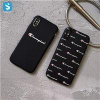TPU champion phone case for iphone xs