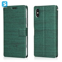 Voltage tree grain leather case for iphone XS