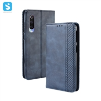 Magnetic TPU PU leather case for MI mi CC9