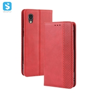 magnetic TPU PU leather phone case for Aquos sense 2