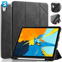 Crazy Horse Pen slot Leather case for APPLE  iPad Air 10.9 (Air 4th 2020)
