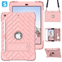 Silicone PC combined case for APPLE  iPad 10.2 2019 2020(iPad 8th)