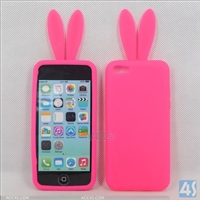 Rabbit Silicone Case Cover for iPhone 5C