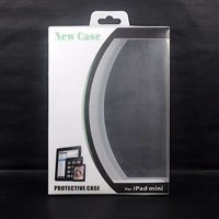 Curve Plastic Paper Box Retail Package for Tablet PC