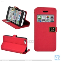 Leather Cell Phone Case for iPhone 5C