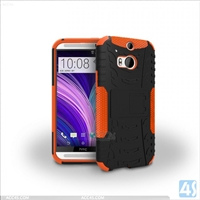 PC Silicone Robot Case for HTC One 2/M8