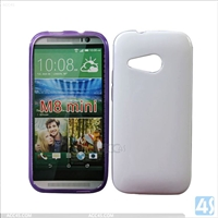 TPU Mobile Phone Case for HTC One M8 Mini