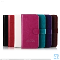 Flip Leather Wallet Case for HTC M8 Mini