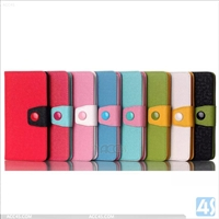 Leather Wallet Case for LG G3