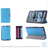 Three Folding Leather Case for LG G Pad 10.1/V700