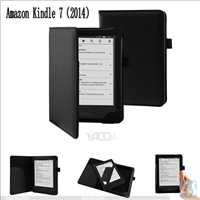 Leather Protective Case for Amazon Kindle 7(2014)