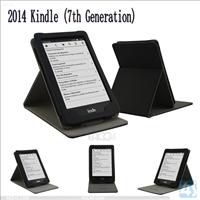 Leather Stand Case for Amazon Kindle 7(2014)
