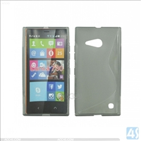 S Type TPU Soft Case for Nokia Lumia 730
