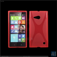 X Type TPU Soft Case for Nokia Lumia 730