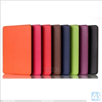 Leather Protective Case for Amazon Kindle with touch 2014