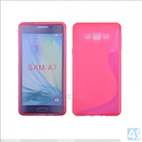 S Type TPU Soft Case for Samsung Galaxy A7(SM-A700FD)