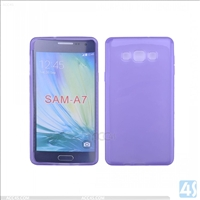 Smooth TPU Soft Case for Samsung Galaxy A7(SM-A700FD)