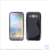 S Type TPU Soft Case for Samsung Galaxy E5(SM-E500F)