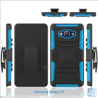 PC Silicone Hard Case for Samsung Galaxy A7(SM-A700FD)