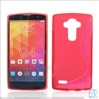 S Type TPU Soft Case for LG G4